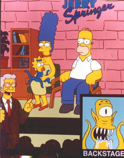 the simpsons and jason In the 27th annual simpsons halloween special, mr burns makes the children fight to the death for a day in his personal reservoir, lisa's imaginary friend kills her real friends, and bart is recruited to moe's group of secret barfly agents.