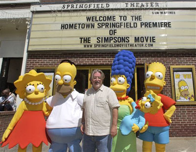 The No Homers Club Information The Simpsons Movie